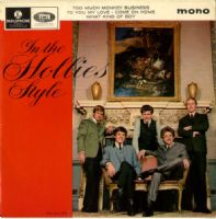 Hollies,The - In The Hollies Style  (GEP 8934)